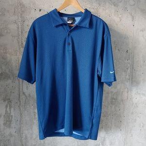 NWT Nike Golf Dri Fit for Men Blue Large